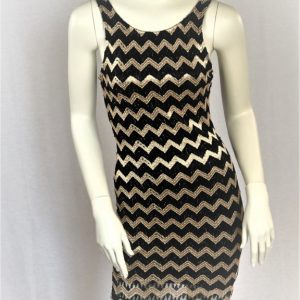 Forever 21 Black and Gold Cocktail Dress