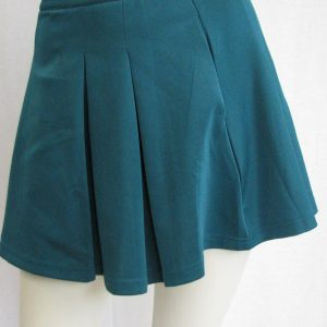 Forever 21 Green Pleated Skirt