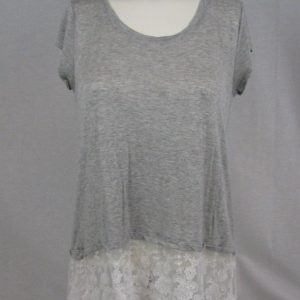 BCX Gray Casual Top