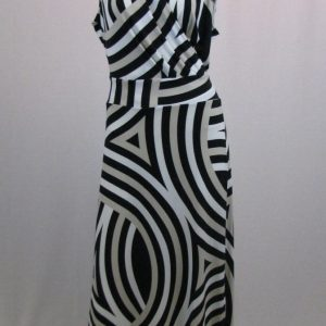 New York & Co. Striped Maxi Dress