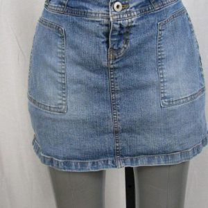 Carolina Blues Denim Skort