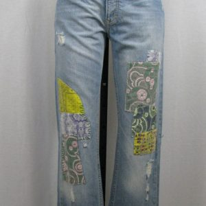 Hollister Denim Button Fly Flare Jeans
