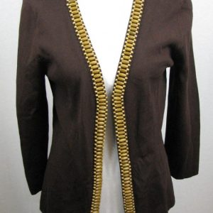 Cable & Gauge Open Front Shrug