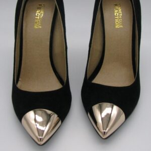 Kenneth Cole Reaction Gold Toe Heels